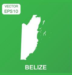 belize map icon business concept belize pictogram vector image
