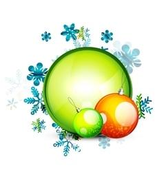 Christmas internet button vector