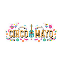 Cinco de mayo - fiesta banner and poster design vector