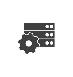 Database server gee icon element data vector