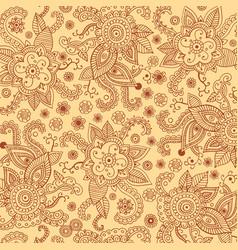 Henna mehndi patten bagkround for print design vector