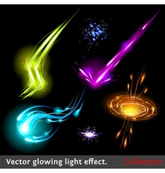 Light effects set vector