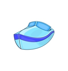 Powerboat icon in cartoon style vector