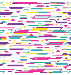 seamless abstract pattern design background vector image