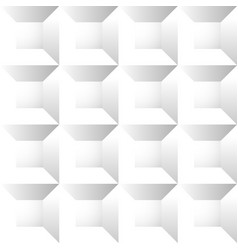 Seamless repeatable patterns with beveled squares vector