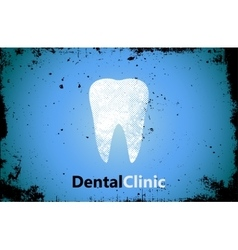 Tooth logo Dental clinic design Dental care vector