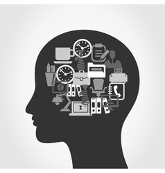 Head office3 vector image vector image