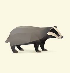 badger vector image