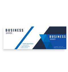 dark blue design abstract business banner i vector image