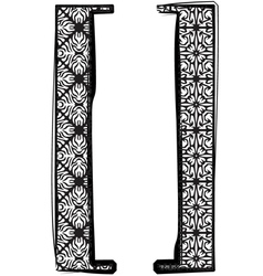 Fashion font vector image vector image