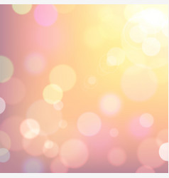 Festive colorful background pink and yellow vector