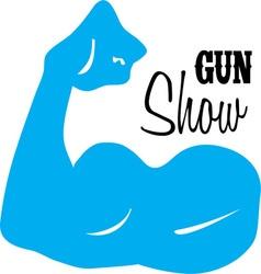 Gun Show vector