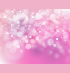 Light pink bokeh background made from white vector