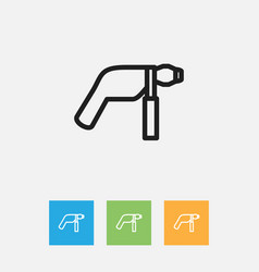 of tools symbol on electric vector image