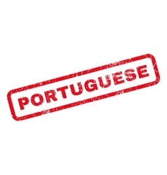Portuguese Rubber Stamp vector