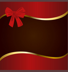Red brown and gold cover vector