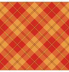 Red brown yellow tartan seamless texture vector