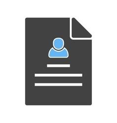 User Profile vector image