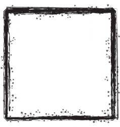 inky border vector image vector image