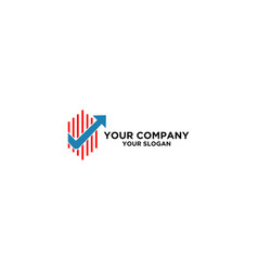 Accountant checklist logo design vector
