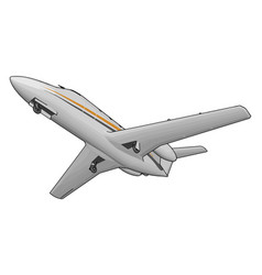 Air transport different means or color vector