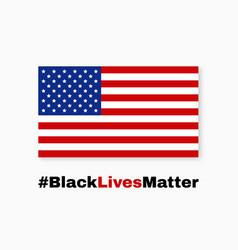 Black lives matter i cant breaprotest banner vector