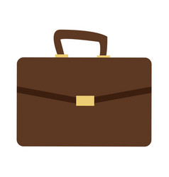 Business portfolio bag accesorie documents vector
