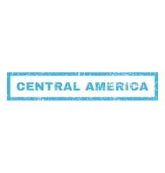 Central America Rubber Stamp vector image