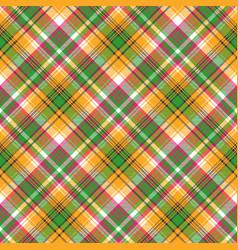 Colors madras plaid textile texture seamless vector