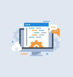 Development software and programming vector