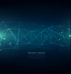 Digital technology background composed lines vector