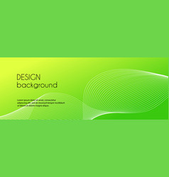 green abstract minimal background dynamic vector image