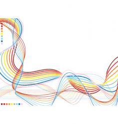 Rainbow warp vector