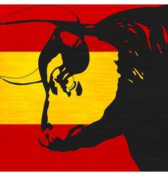 Spanish bull vector