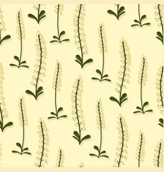 Summer designs delicate wildflowers vector