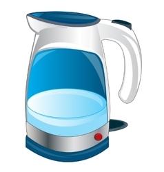 Teapot electric vector