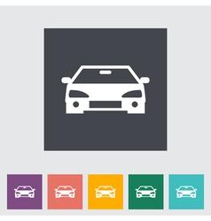 Car icon 2 vector image vector image