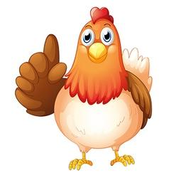 A hen vector