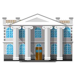 historic city building vector image