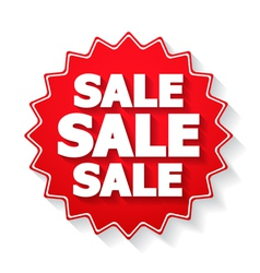 Sale Sticker vector image vector image