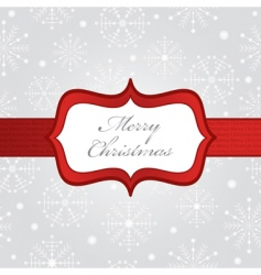 silver Christmas wrapping vector image vector image