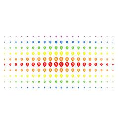 banking map marker spectrum halftone array vector image