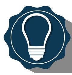 Bulb or big idea icon vector