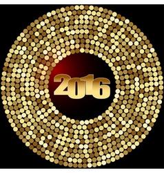 Christmas decoration 2016 vector
