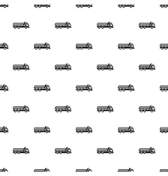Dump truck pattern simple style vector
