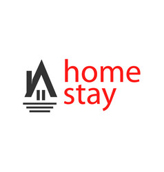 Home stay logo template design vector
