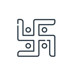 Jain icon jain editable stroke jain linear symbol vector