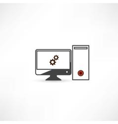 computer repair vector image vector image
