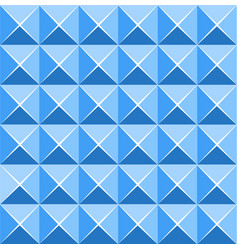 blue vivid color of abstract pattern tile vector image