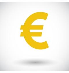 Euro icon vector